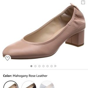 Cole Haan Ariana pump size 5.5 blush color